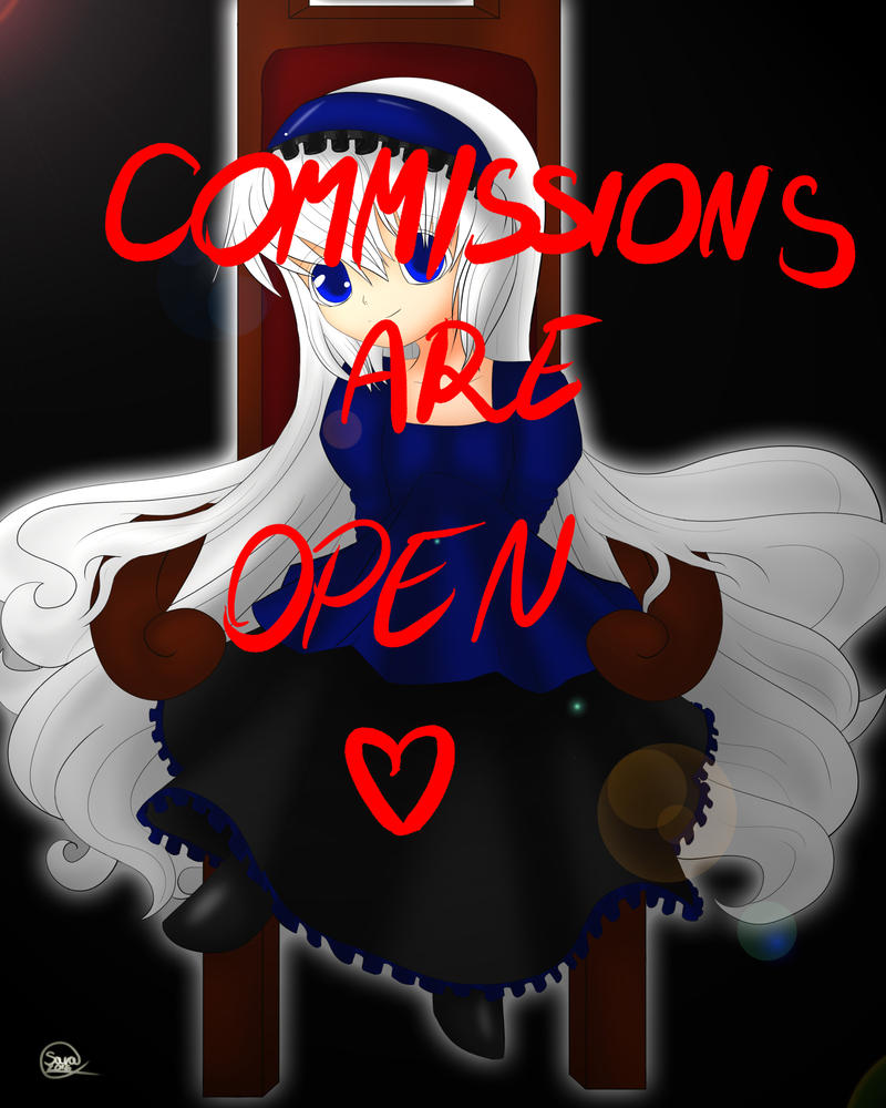 Commissions Are Open !!! by Kisara16