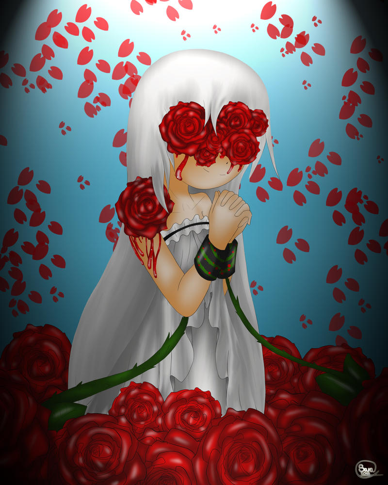 Roses Red Like Blood by Kisara16