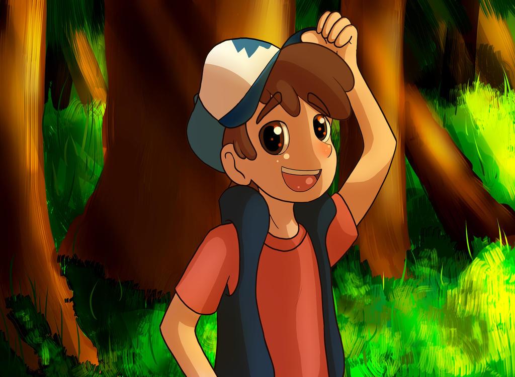 Gravity Falls Dipper Pines by Kisara16