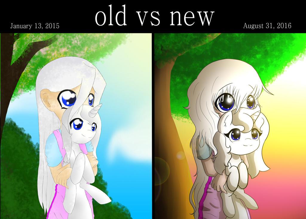 Old Vs New by Kisara16