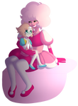 Pearl And Her Diamond