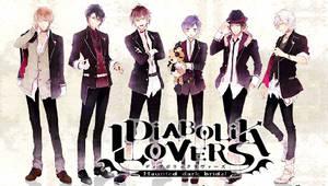 Diabolik Lovers PSP Wallpaper