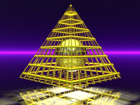 Piramide sferica by claudio51