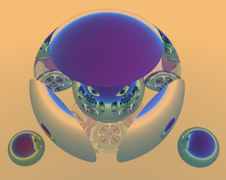 Guerriero sferico by claudio51