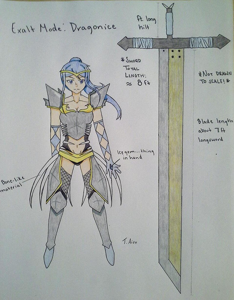 Aliamon Exalt Mode: Dragonice Mode by ToriAisu