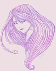 Purple pixy by AngelRinoaL