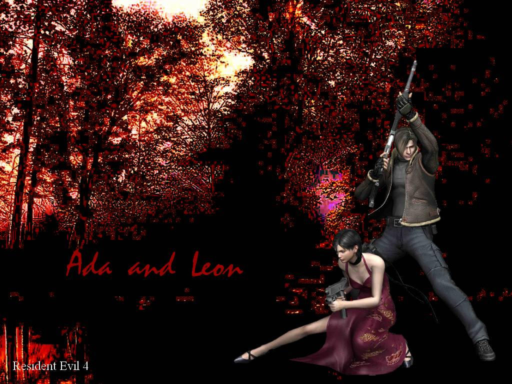 Resident Evil 4 Leon and Ada by AngelRinoaL