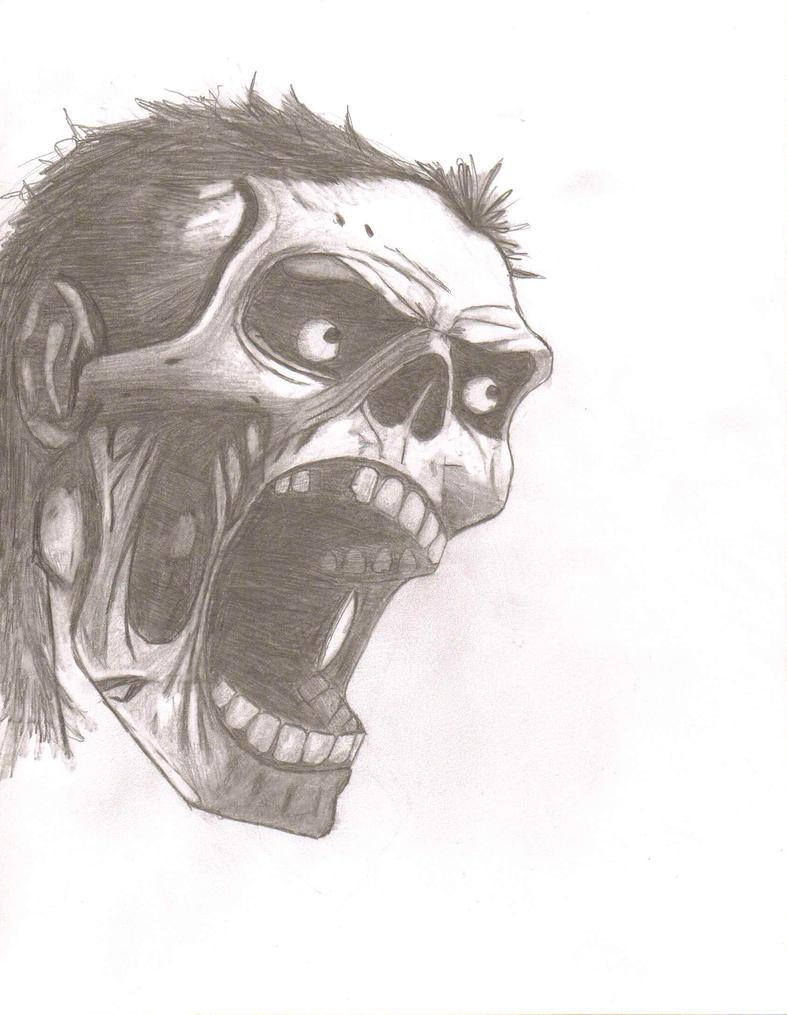 Zombie Screem by triller14