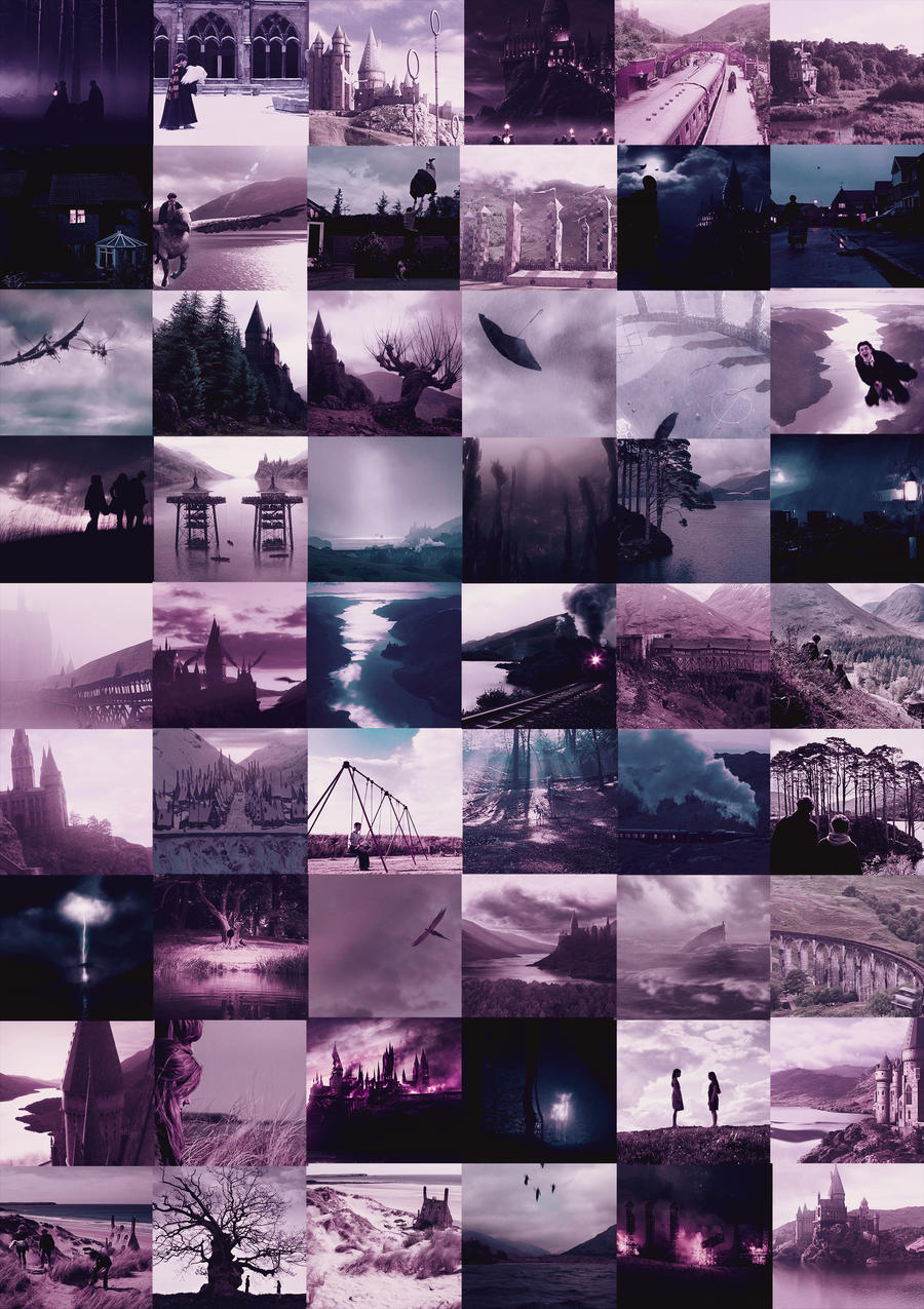 Amazing Wallpaper Harry Potter Purple - harry_potter_scenery_in_purple_by_thestagpatronus-d5a0upz  Pictures_549399.jpg