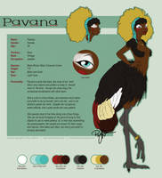 .  VoS  .  Pavana Ref Sheet by bytesizetreasure