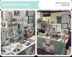BST Artist Alley #5 - AnimeUSA 2015 by bytesizetreasure