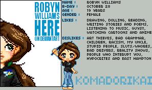 Robyn Williams by rewynd-studio