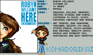 Robyn Williams by bytesizetreasure