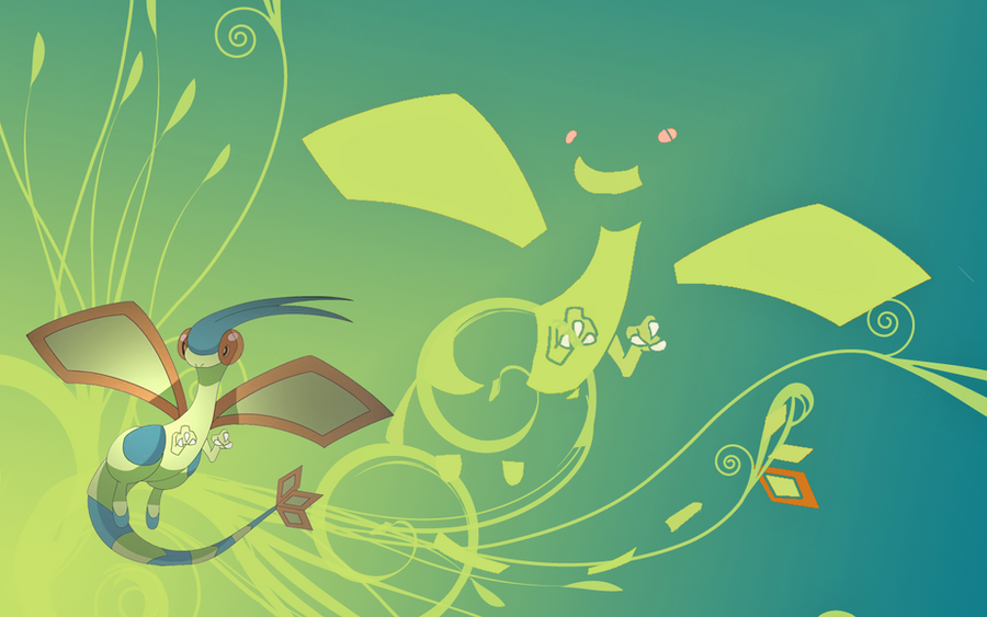 Shiny Flygon Wallpaper by Zulo317 on DeviantArt
