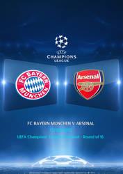 Champions League Bayern Munchen - Arsenal by DevilishSoldier