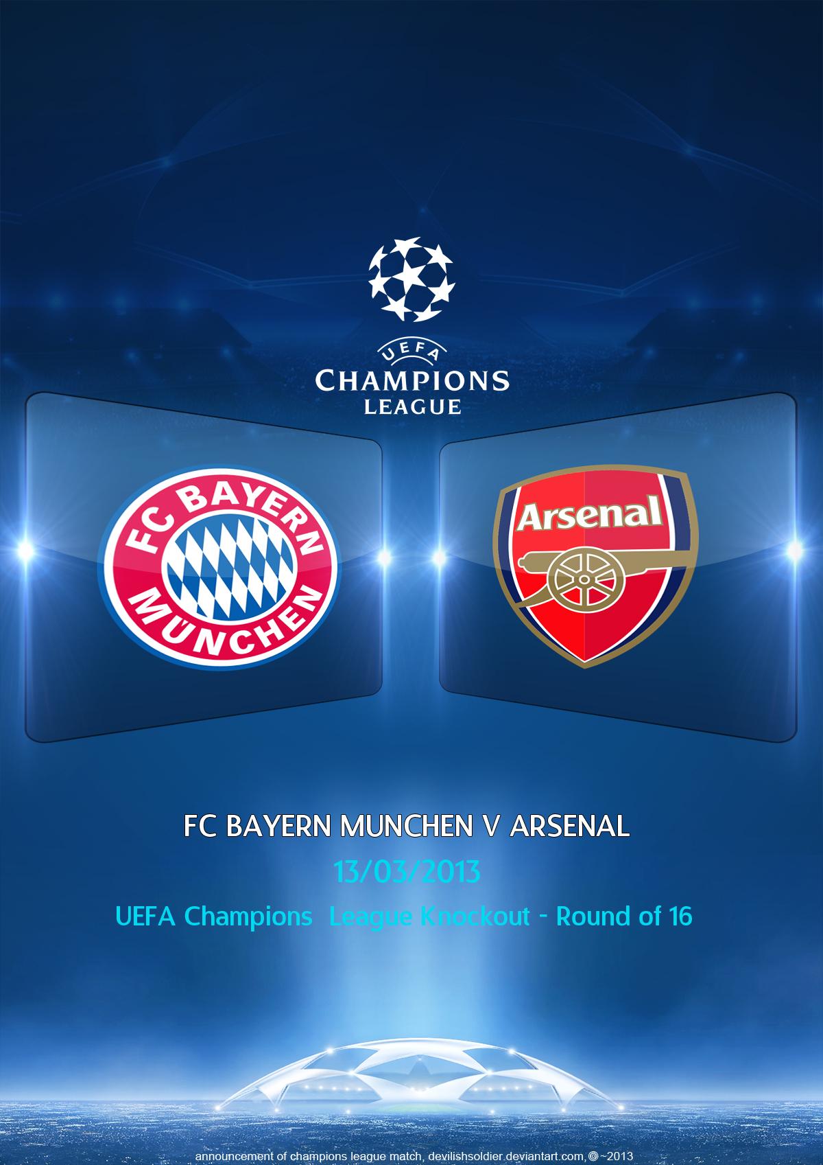 bayern arsenal champions league