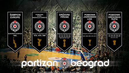 BC Partizan Belgrade by DevilishSoldier