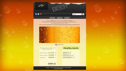 Beer Web Site by DevilishSoldier