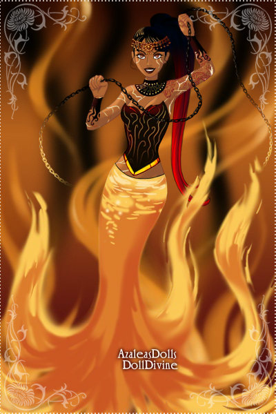 The Fire Queen by GlyndaRose