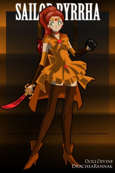 Sailor Pyrrha by GlyndaRose