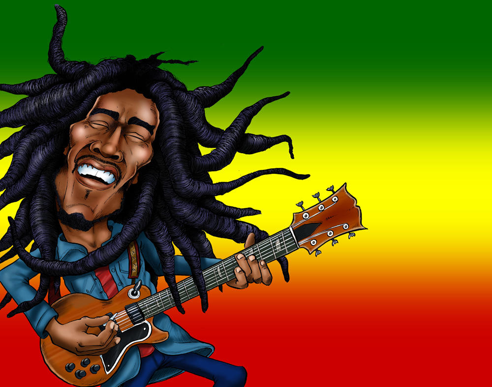 Bob Marley by CaricaturEd