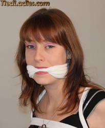 Coree cleave gagged by PhMBond