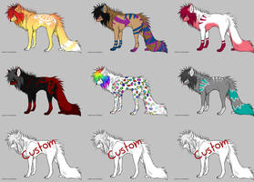 Scene Wolf Adopts {OPEN} by GentleMouse