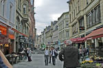 Weisbaden Street 3 by GryphonVisArts