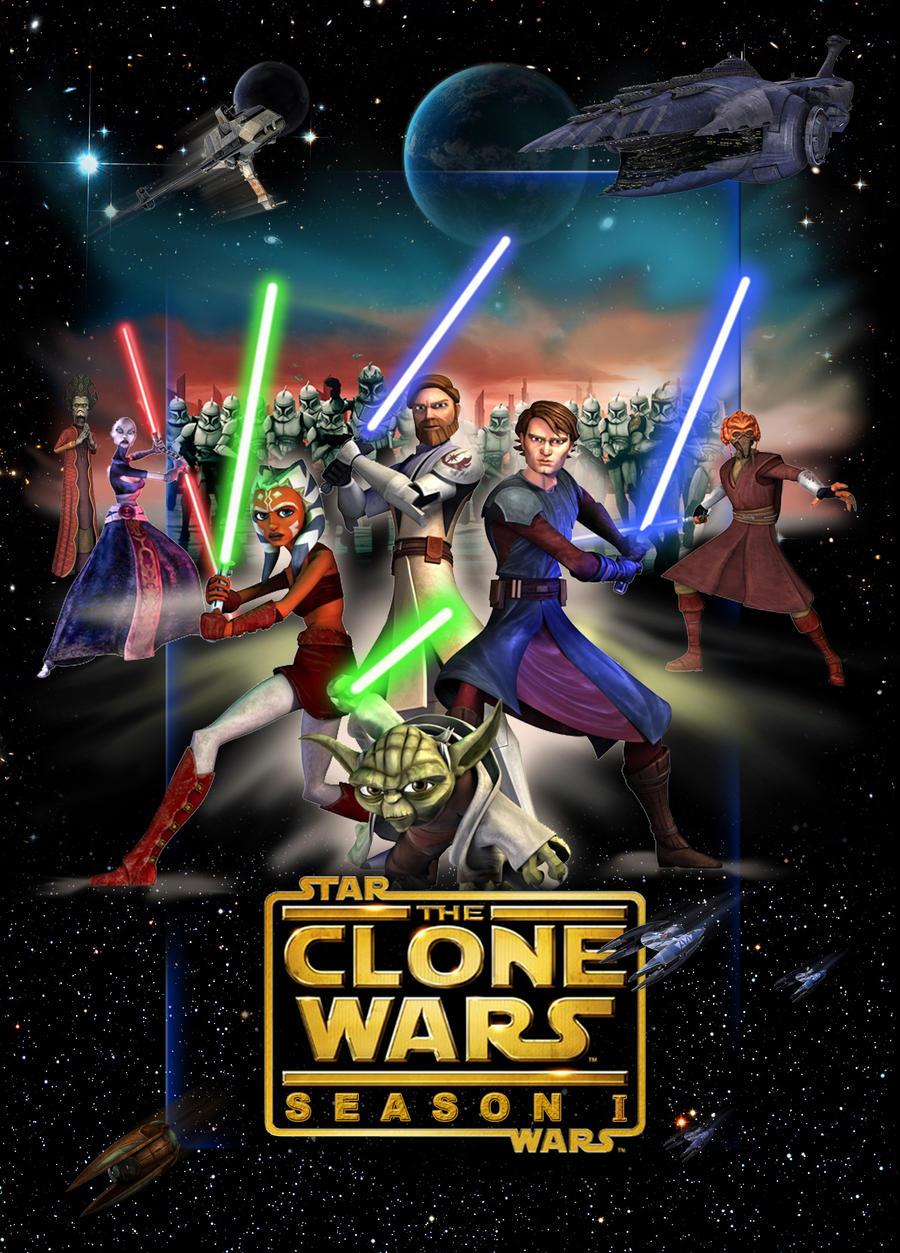 clone wars 1 poster by denisogloblin on deviantart. Black Bedroom Furniture Sets. Home Design Ideas