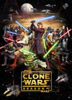 Clone Wars 5 poster by denisogloblin