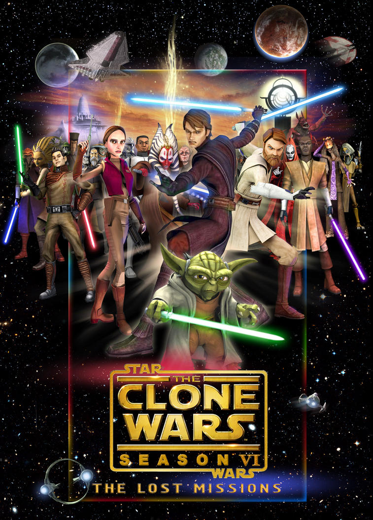 Clone Wars 6 poster by denisogloblin