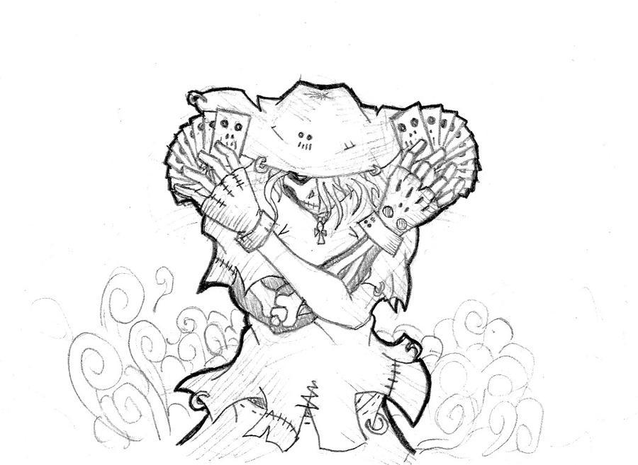 la santa muerte coloring pages photo15