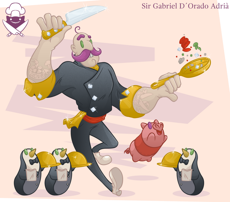 Gabriel D Orado Adria by El-Wolfgang