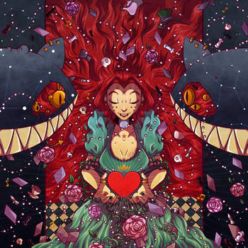 Alice's Red Dream by El-Wolfgang