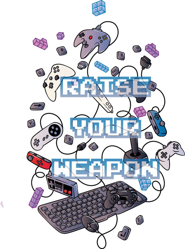 Raise Your Weapon by El-Wolfgang
