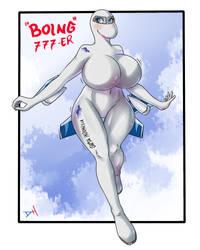 Anthromorph Boing 777ER
