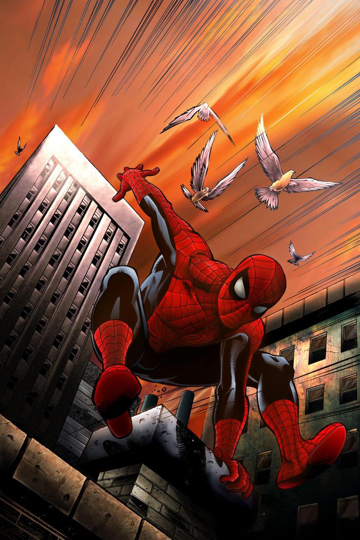 Spider-Man Colors by EdRyder on DeviantArt