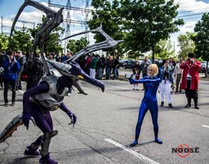 Meta Ridley vs Zero Suit Samus