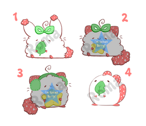 [open] Strawberry Patch Adoptables