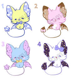 [open] Bat Adoptables 2