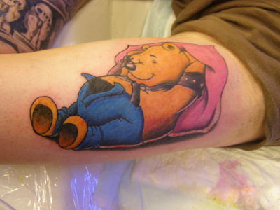 Winnie the pooh tattoo by icterus studio on deviantart for Winnie the pooh tattoo