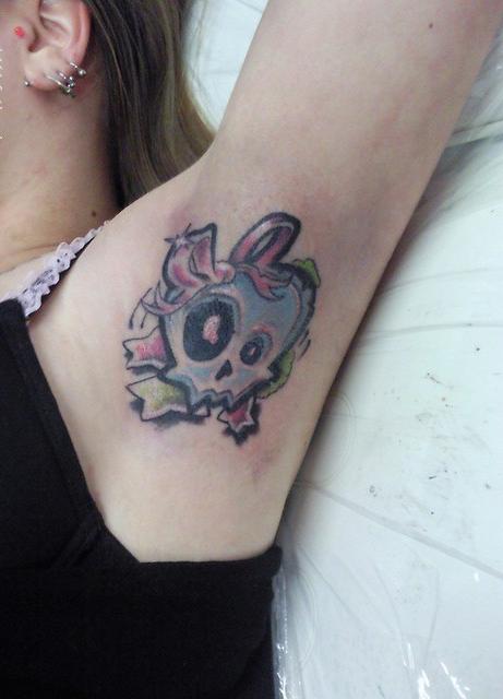 Simple Skull Tattoo Designs