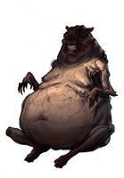 Tim Seeley Monster by bearmantooth