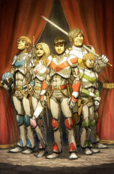 Voltron 3 by bearmantooth