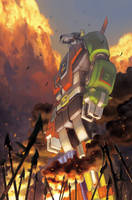 Voltron 1: Convention Special by bearmantooth