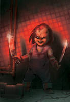 Chucky cover by bearmantooth