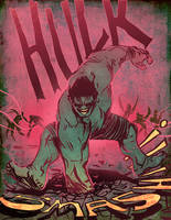 Hulk SMASH by bearmantooth