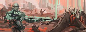 Peppermint Dragon Hunters