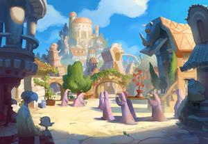 Ancient Ravenskye City