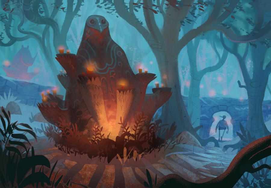 Ancient Ravenskye Gods by bear65